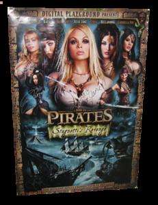 Pirates XXX Stagnetti's Revenge Autographed Movie Poster