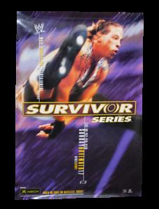 Rob Van Dam Autographed WWE Survivor Series 2002 PPV Poster