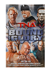 Jeff Jarrett Autographed TNA Bound For Glory 2010 PPV Poster