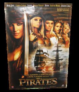 Jesse Jane & Teagan Presley Autographed Pirates XXX Movie Poster