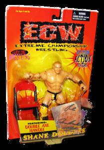 Shane Douglas Autographed The Original San Francisco Toymakers ECW Series 1 Figure