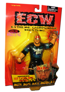 Buh Buh Ray Dudley Autographed The Original San Francisco Toymakers ECW Series 2 Figure