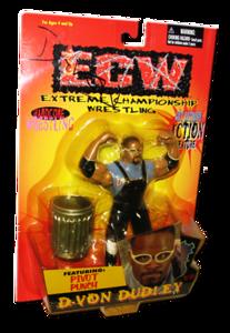 D-Von Dudley Autographed The Original San Francisco Toymakers ECW Series 2 Figure