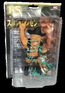 Stan Hansen Autographed HAO Limited 1/1500 Japenese Wrestling Figure