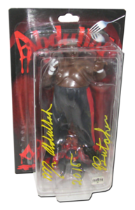 Abdullah The Butcher Autographed NJPW AJPW CMLL NOAH Japanese Wrestling Figure (Variant)