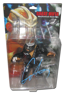 The Great Muta Autographed HAO Japanese Figure (Black Gear Version)