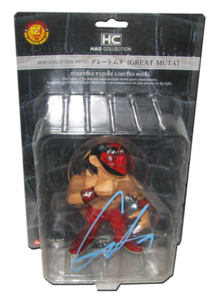 The Great Muta Autographed HAO Japanese Figure