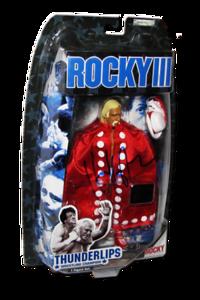 Thunderlips aka Hulk Hogan Autographed JAKKS Pacific ROCKY III Figure