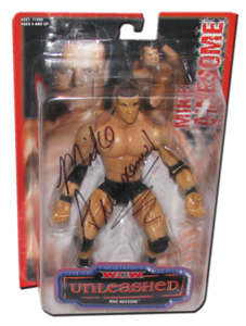Mike Awesome Autographed WCW Toybiz Unleashed Figure