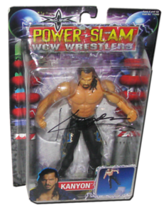 Kanyon Autographed WCW Toybiz Power-Slam Figure