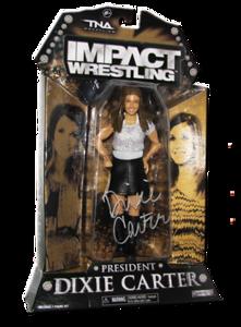 Dixie Carter Autographed Exclusive ShopTNA Figure