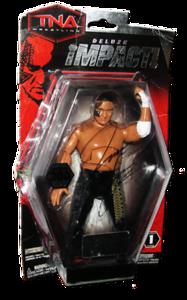 Samoa Joe Autographed JAKKS Pacific TNA DELUXE IMPACT Series 1 Figure