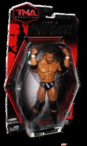 Matt Morgan Autographs JAKKS Pacific TNA DELUXE IMPACT Series 3 Figure