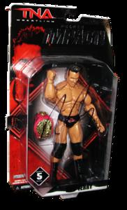 Rob Terry Autographed JAKKS Pacific TNA DELUXE IMPACT Series 5 Figure