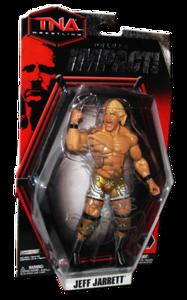Jeff Jarrett Autographed JAKKS Pacific TNA DELUXE IMPACT Series 1 Figure