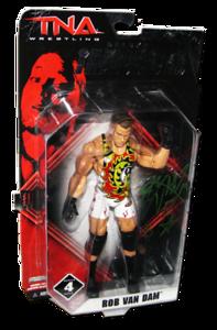 Rob Van Dam Autographed JAKKS Pacific TNA DELUXE IMPACT Series 4 Figure