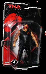 Abyss Autographed JAKKS Pacific TNA DELUXE IMPACT Series 4 Figure