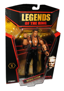 Kevin Nash Autographed JAKKS Pacific TNA LEGENDS OF THE RING Figure