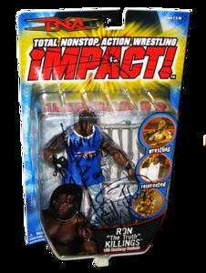 Ron Killings Autographed MARVEL TNA IMPACT! Series 2 Figure