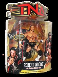 Robert Roode Autographed MARVEL TNA Series 7 Figure