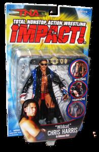 Chris Harris Autographed MARVEL TNA IMPACT! Series 4 Figure