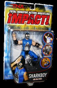 Sharkboy Autographed MARVEL TNA IMPACT! Series 2 Figure