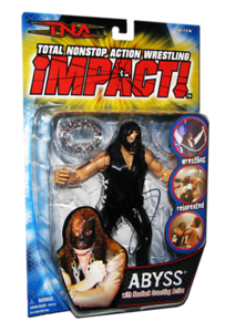 Abyss Autographed MARVEL TNA IMPACT! Series 1 Figure