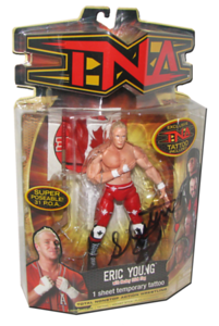 Eric Young Autographed MARVEL TNA Series 8 Figure (Variant)