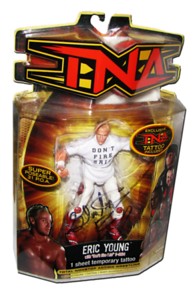 Eric Young Autographed MARVEL TNA Series 8 Figure