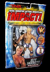 Jeff Jarrett Autographed MARVEL TNA IMPACT! Series 1 Figure
