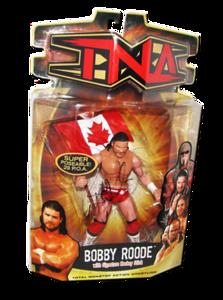 Bobby Roode Autographed MARVEL TNA Series 7 Figure (Variant)