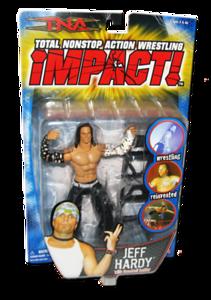 Jeff Hardy Autographed MARVEL TNA IMPACT! Series 2 Figure
