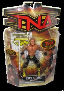Chase Stevens Autographed MARVEL TNA Series 8 Figure (Variant)