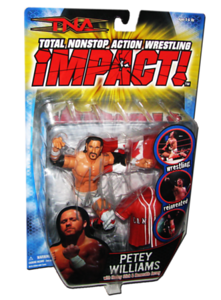 Petey Williams Autographed MARVEL TNA IMPACT! Series 4 Figure