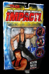 Kevin Nash Autographed MARVEL TNA IMPACT! Series 4 Figure