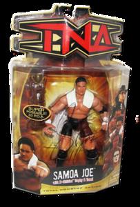 Samoa Joe Autographed MARVEL TNA Series 5 Figure