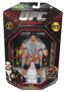 Dan Severn Autographed UFC Legends Series 5 JAKKS Pacific Figure