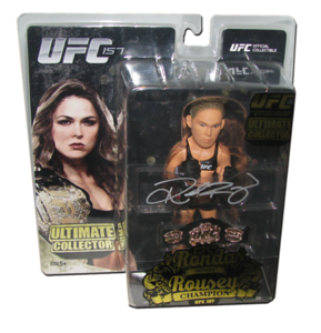 Ronda Rousey Autographed UFC 157 Ultimate Collector Round 5 Champion Edition Figure