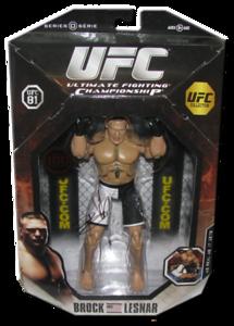 Brock Lesnar Autographed (UFC 81) UFC Series 0 (1 Of 100) JAKKS Pacific Figure