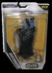 "Shockmaster Autographed Mattel WWE ELITE COLLECTION FLASHBACK ""SDCC International"" Exclusive Figure"