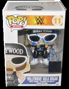 Hollywood Hulk Hogan Autographed 2K15 WWE EXCLUSIVE POP! Funko Vinyl Figure