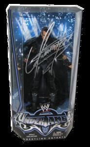 Undertaker Autographed Mattel SDCC 2010 Exclusive WWE Entrance Greats Figure