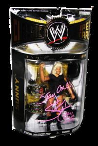 Sunny Autographed JAKKS Pacific WWE Classic Superstars ToyFare Magazine Exclusive 1 Of 100 Figure