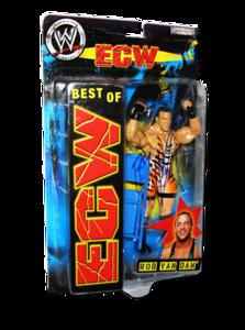 Rob Van Dam Autographed JAKKS Pacific WWE BEST OF ECW Figure