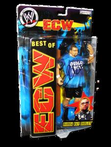 Bubba Ray Dudley Autographed JAKKS Pacific WWE BEST OF ECW Figure