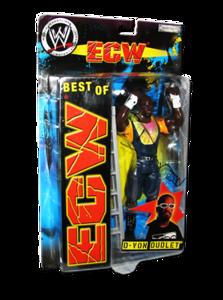 D-Von Dudley Autographed JAKKS Pacific WWE BEST OF ECW Figure