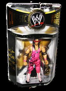 "Bret ""Hitman"" Hart Autographed JAKKS Pacific WWE Classic Superstars Series 3 Figure"