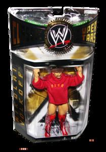 Nikolai Volkoff Autographed JAKKS Pacific WWE Classic Superstars Series 5 Figure