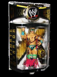 Ultimate Warrior Autographed JAKKS Pacific WWE Classic Superstars Series 3 Figure