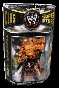 Buff Bagwell Autographed JAKKS Pacific WWE Classic Superstars Series 21 Figure